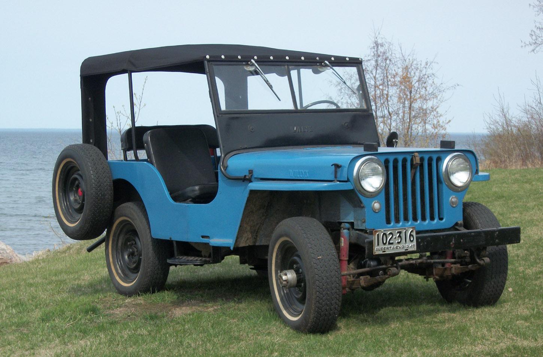 Jeep Hard Top >> Bill's CJ2A